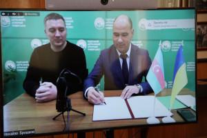 ADAU-da Ukraynanın infrastruktur naziri ilə görüş keçirilib